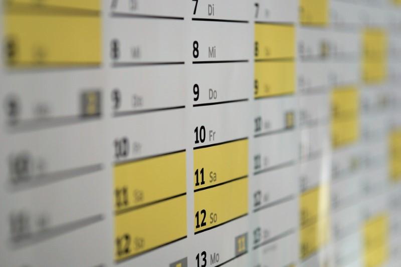 Propagační dárky - magnet na kalendář